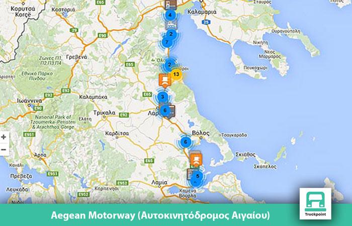 aegean motorway